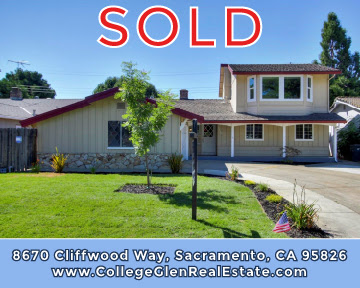 Just Sold –  8670 Cliffwood Way, Sacramento, CA 95826 – www.RealEstateWithDoug.com