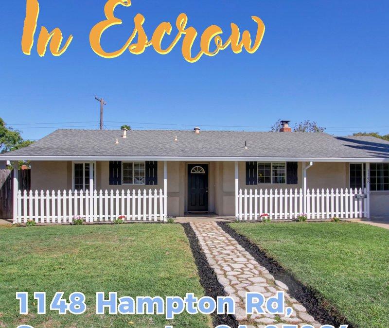 In Escrow – 1148 Hampton Rd, Sacramento, CA 95864 – www.RealEstateWithDoug.com