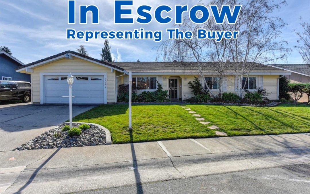 In Escrow – 9026 El Carrilo Ct, Elk Grove, CA 95624