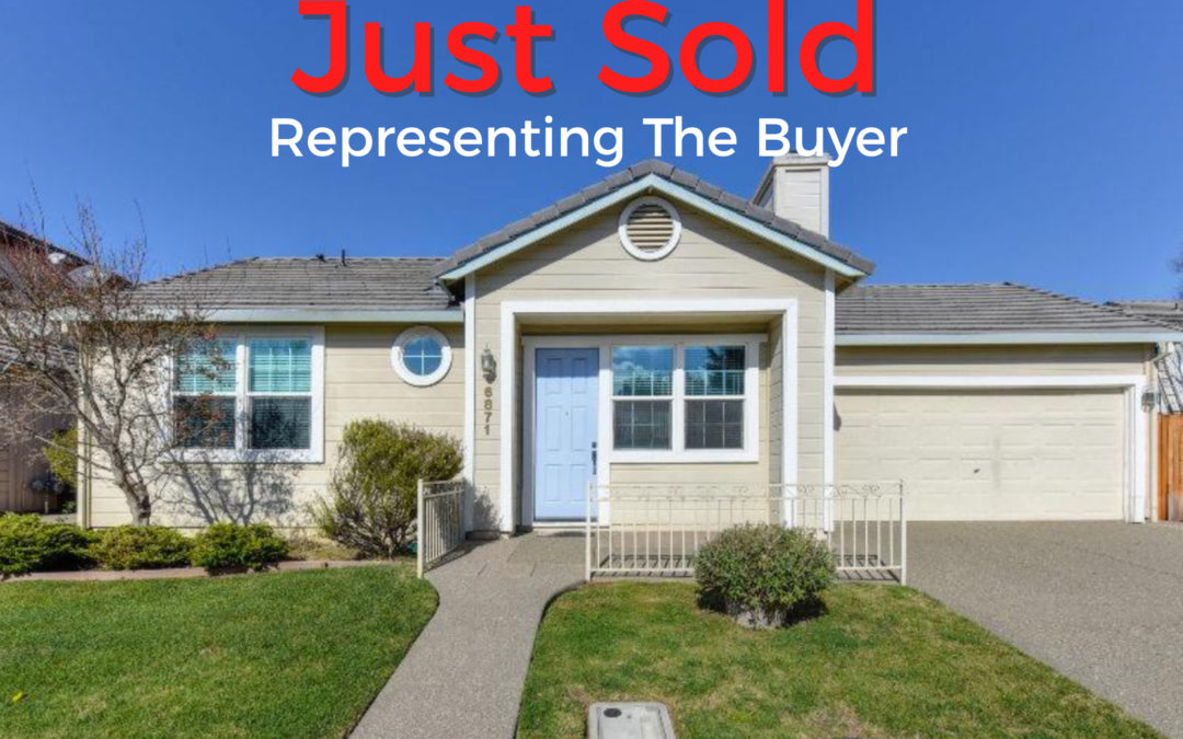 Just Sold – 6871 Hampton Cove Way, Sacramento, CA 95823