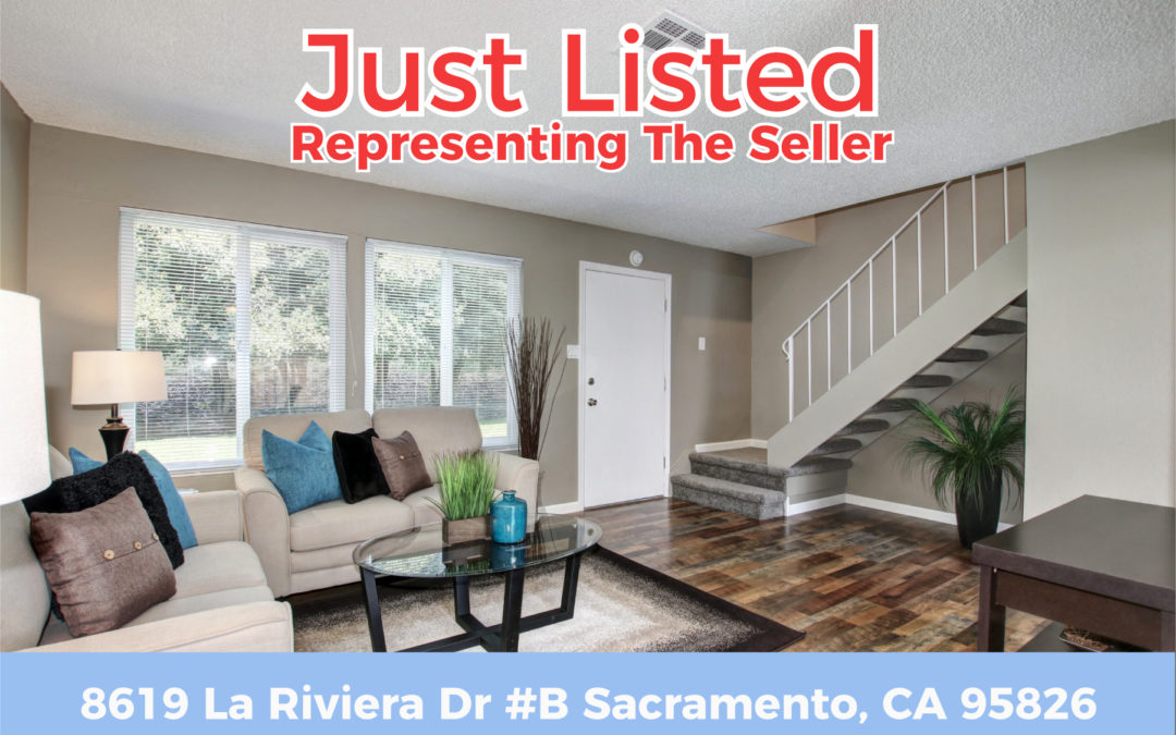 Just Listed – 8619 La Riviera Dr #B, Sacramento CA 95826