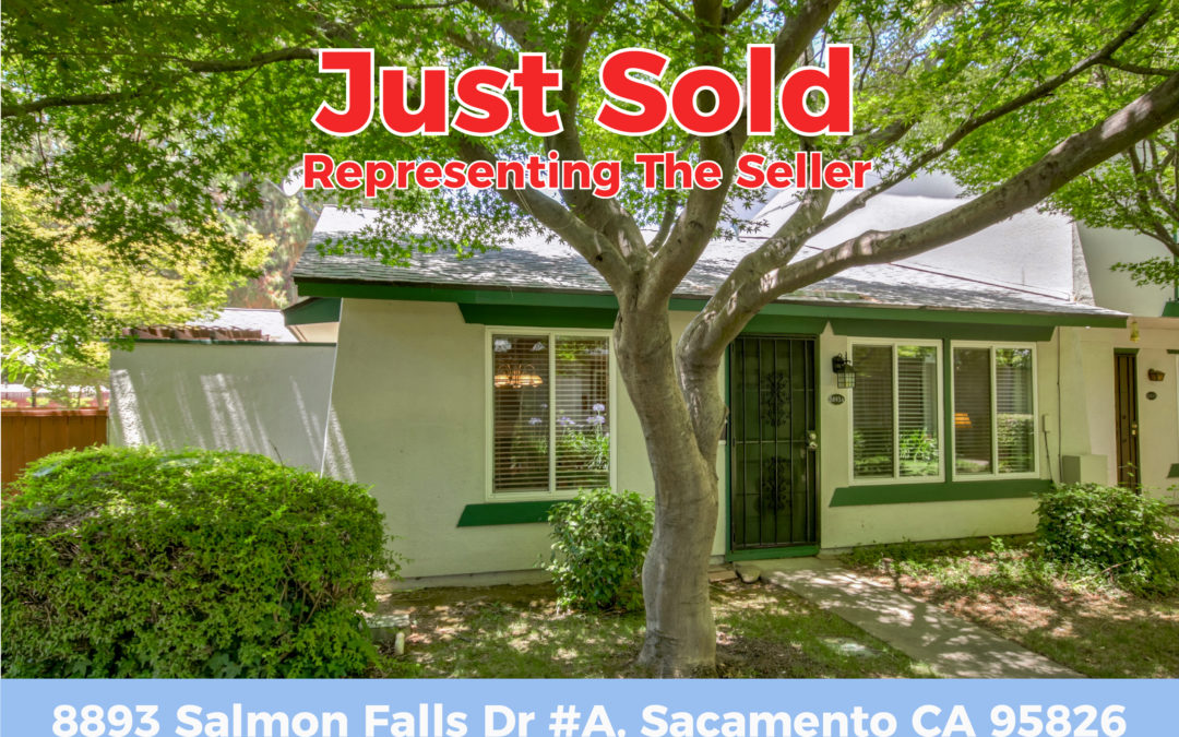 Just Sold – 8893 Salmon Falls Dr #A, CA 95826