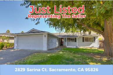 Just Listed – 2829 Sarina Ct Sacramento, CA 95826