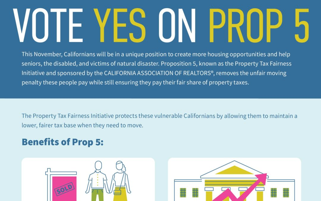 Vote YES on Prop 5