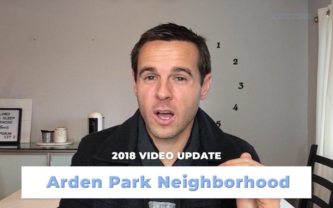 Arden Park Video Update – Homes Sold in 2018