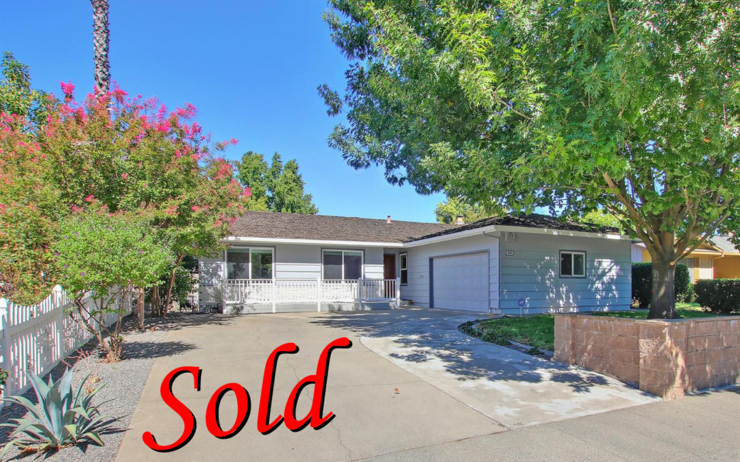 JUST SOLD- 8405 La Riviera Dr, Sacramento